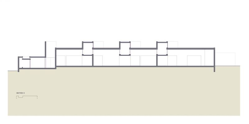 arquitectura_paracas museum_sección longitudinal