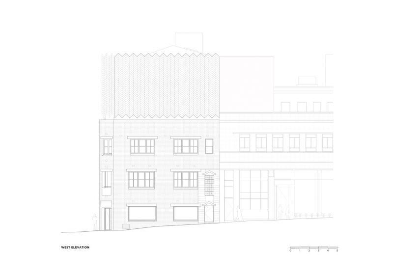 arquitectura_Paramount House Hotel_alzado