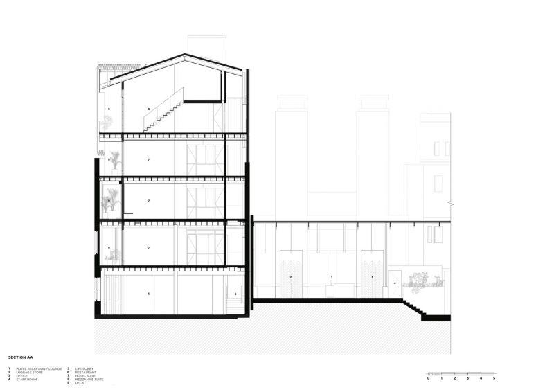 arquitectura_Paramount House Hotel_sec