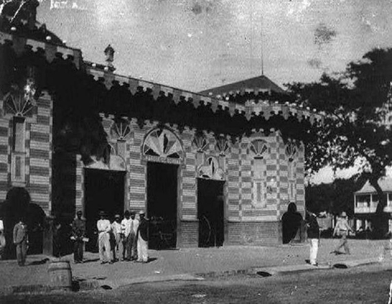Arquitectura_Parque de Bombas de Ponce_ imagen de la epoca