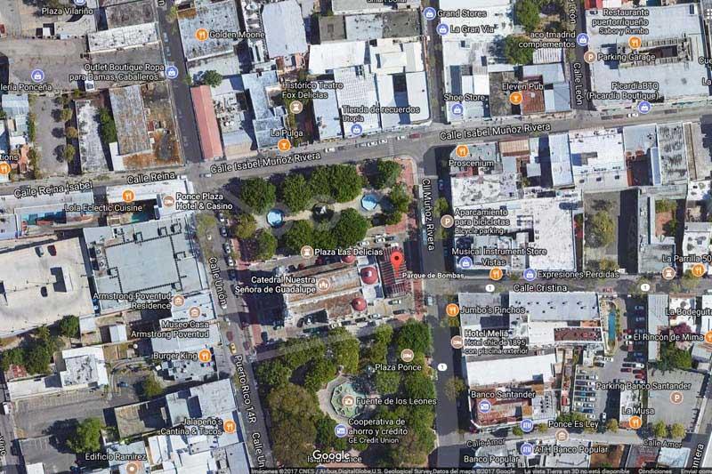 Arquitectura_Parque de Bombas de Ponce_ vista desde google maps
