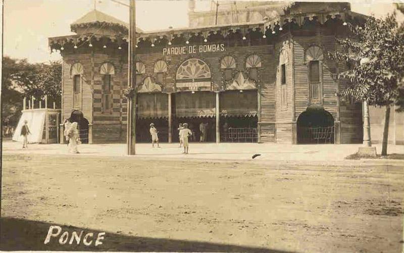 Arquitectura_Parque de Bombas de Ponce_ imagen antigua