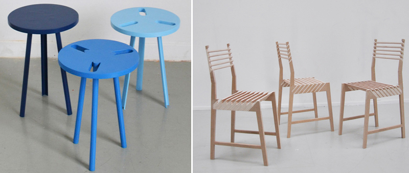 arquitectura, arquitecto, diseño, design, silla, taburete, muebles, Paul Menand