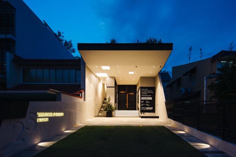 arquitectura_Peolple´s Chapel_acceso