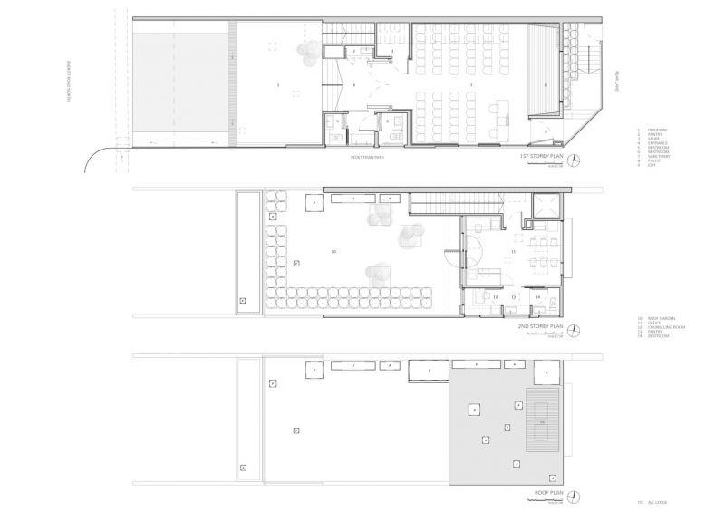 arquitectura_Peolple´s Chapel_plantas