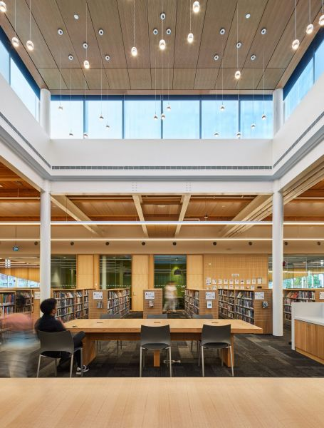 arquitectura_Perkins_Will_Albion_Library_linterna