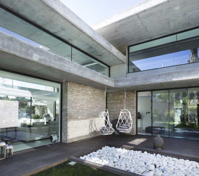 casa marivent perretta arquitectura campolivar fotografía exterior hormigon