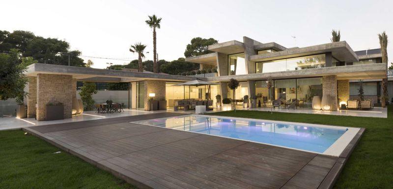 casa marivent perretta arquitectura campolivar fotografía piscina