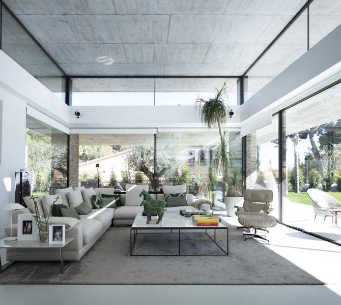 casa marivent perretta arquitectura campolivar fotografía interior salon