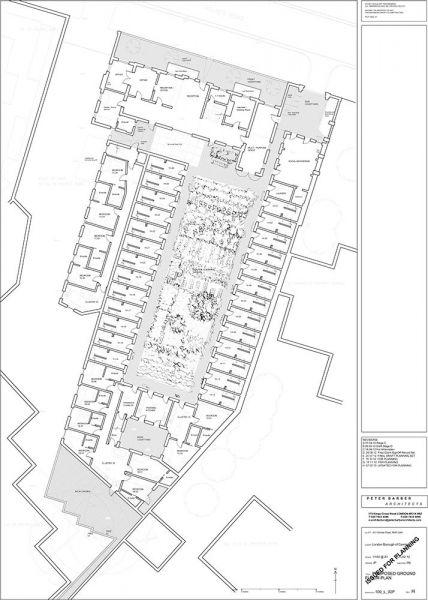 arquitectura_Peter Barber_Micro Homes_planos conjunto