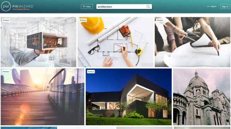 arquitectura pikwizard banco de imagenes gratuitas