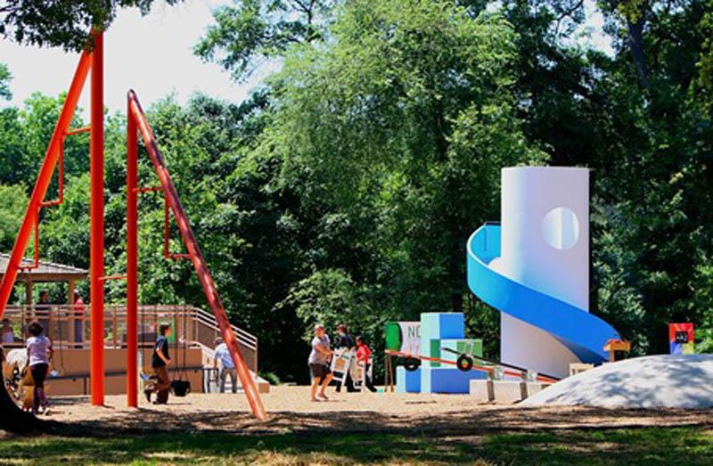 Arquitectura_Isamu Noguchi_ Piedmont Park Parque Infantil