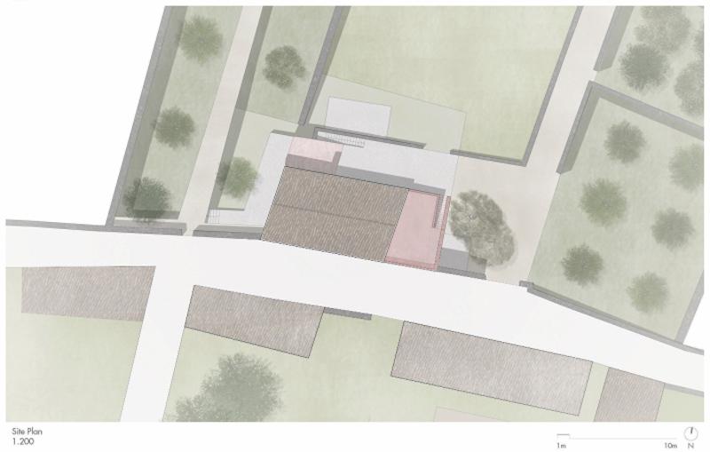 Arquitectura_pink_house_rehabilitacion establo:_ emplazamiento