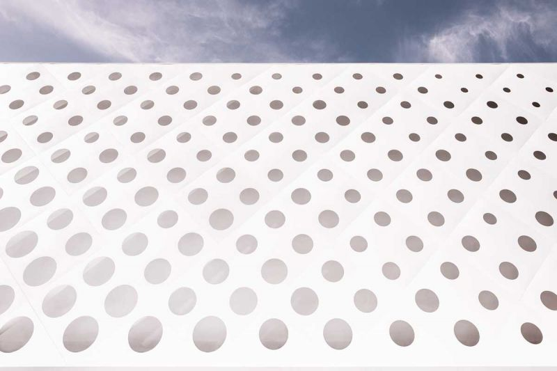 Centro comercial coop.fi en Arezzo Piuarch arquitecturayempresa fotografia detalle
