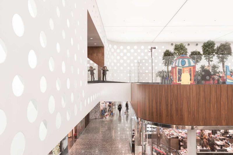 Centro comercial coop.fi en Arezzo Piuarch arquitecturayempresa fotografia interior