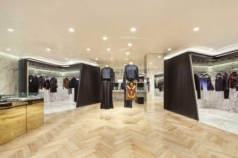 Givenchy Flagship Store Piuarch arquitecturayempresa fotografia interior