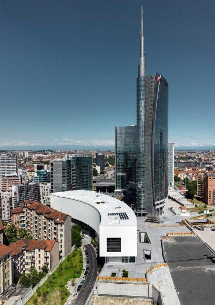 Edificio Porta Nuova Piuarch arquitecturayempresa fotografia aerea