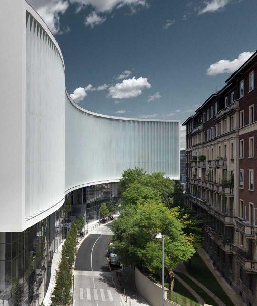 Edificio Porta Nuova Piuarch arquitecturayempresa fotografia exterior