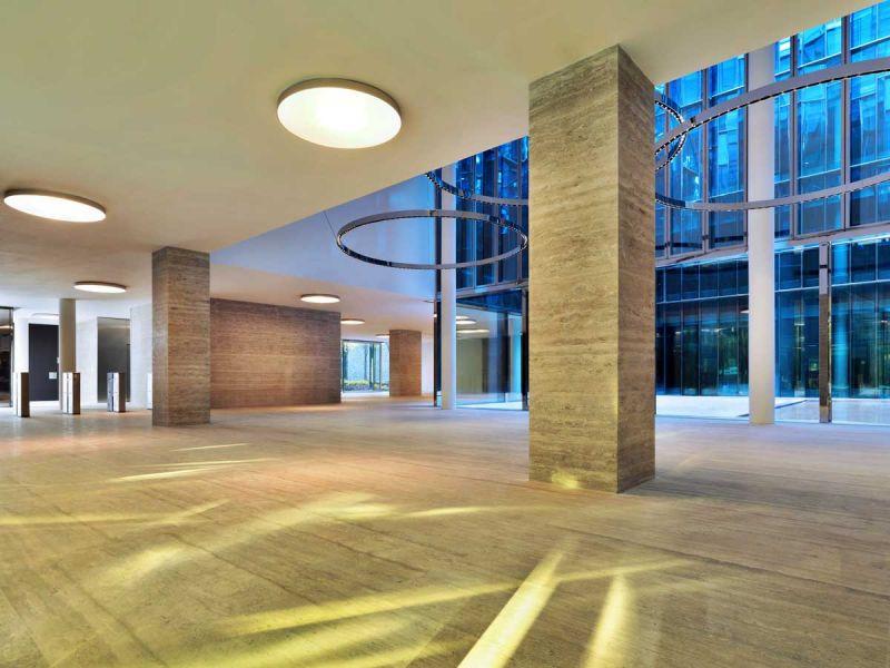 Centro de negocios Quattro Corti Piuarch arquitecturayempresa fotografia planta baja