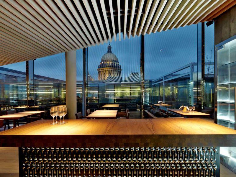 Centro de negocios Quattro Corti Piuarch arquitecturayempresa fotografia restaurante