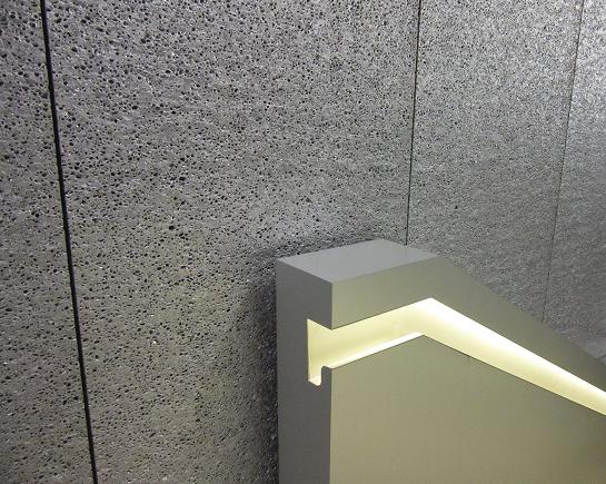 arquitectura_planchas de espuma de aluminio_acabado interior