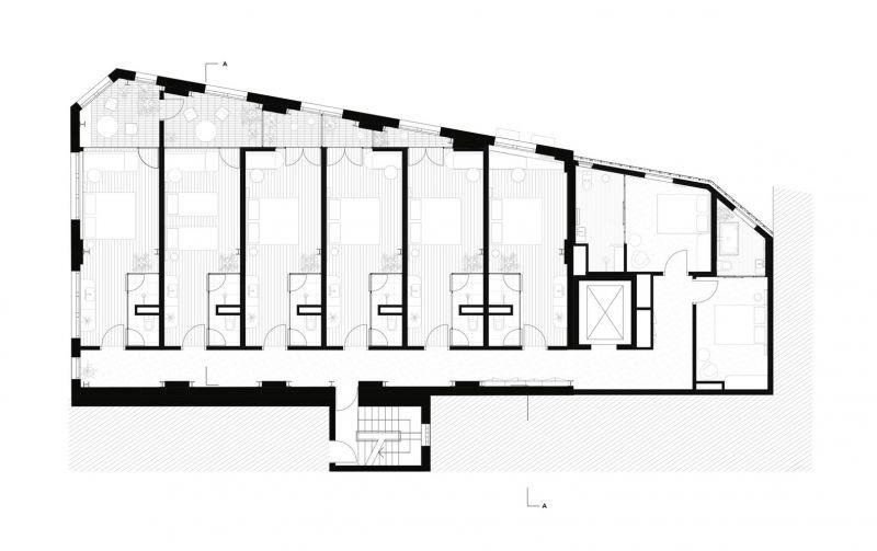 arquitectura_Paramount House Hotel_planta tipo