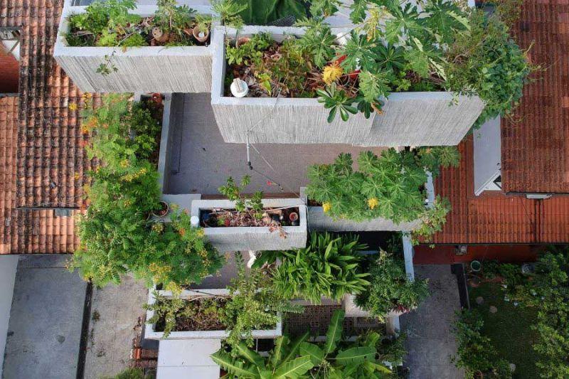 arquitectura Formzero Planter Box house fotografía Ameen Deen cajas