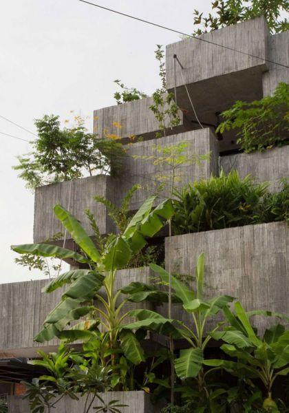 arquitectura Formzero Planter Box house fotografía Ameen Deen maceteros