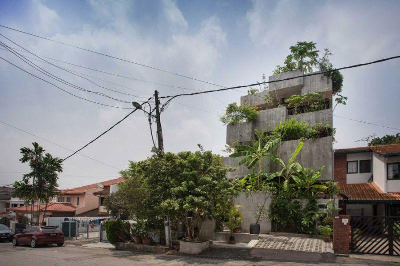 arquitectura Formzero Planter Box house fotografía Ameen Deen exterior