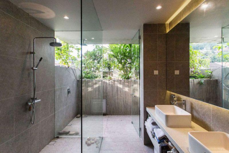 arquitectura Formzero Planter Box house fotografía Ameen Deen cuarto baño