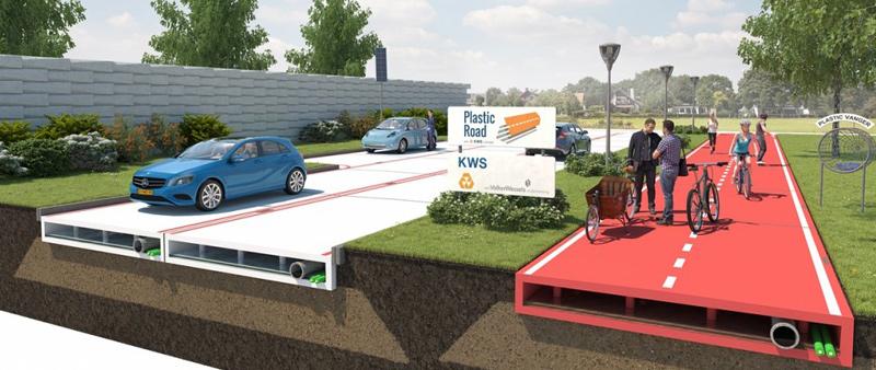 arquitectura, arquitecto, diseño, design, interiorismo, sostenible, sostenibilidad, urbanismo, carreteras, plástico, VolkerWessels, PlasticRoad