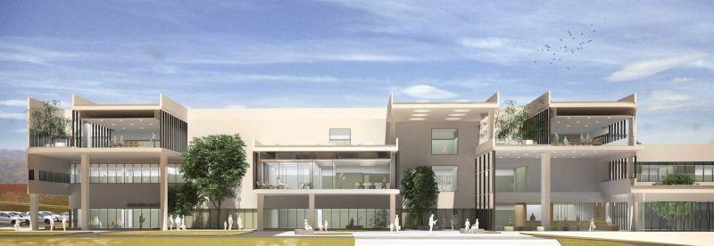 arquitectura PMMT hospital chuquiyaka la paz bolivia render seccion