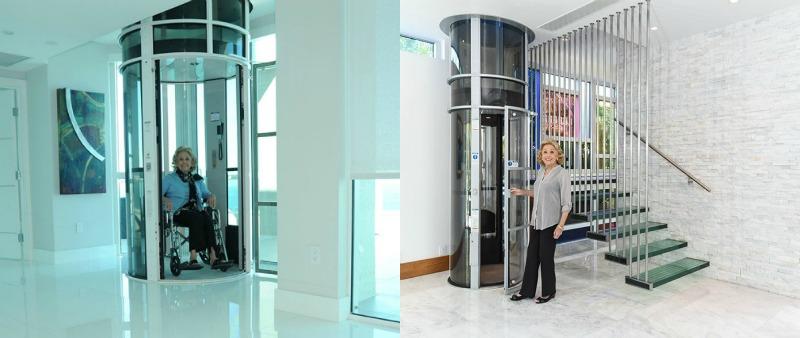 arquitectura, arquitecto, diseño, design, ascensor, Pneumatic Vacuum Elevators LLC, elevador neumático, vacío, hogar, silla ruedas