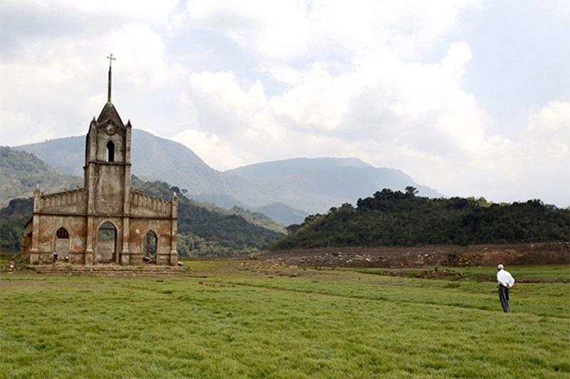 Arquitectura_Potosi_pueblo sumergido_imagen actual ruinas