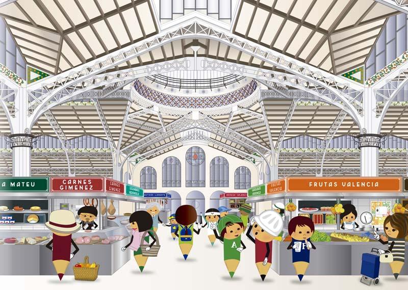 Arquitectura_Presentación Lapiceto_portada libro mercado central