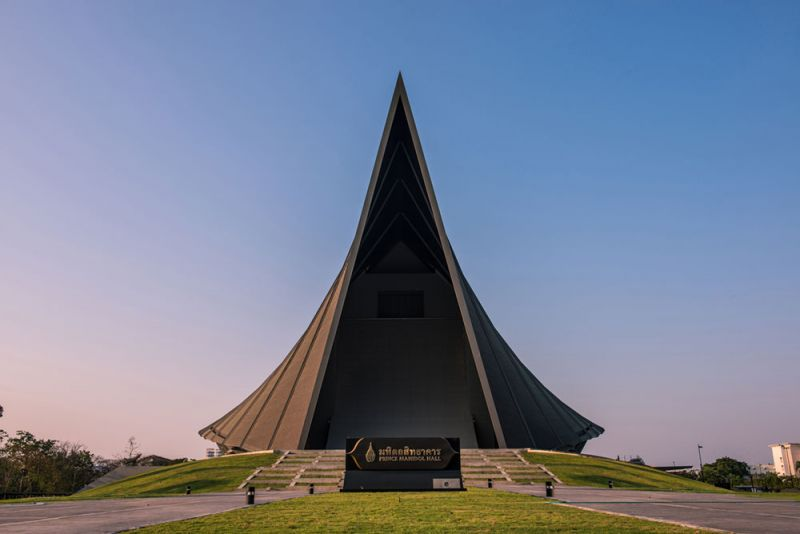 arquitectura Architects 49 Limited auditorio Prince Mahidol Hall fotografia exterior frontal