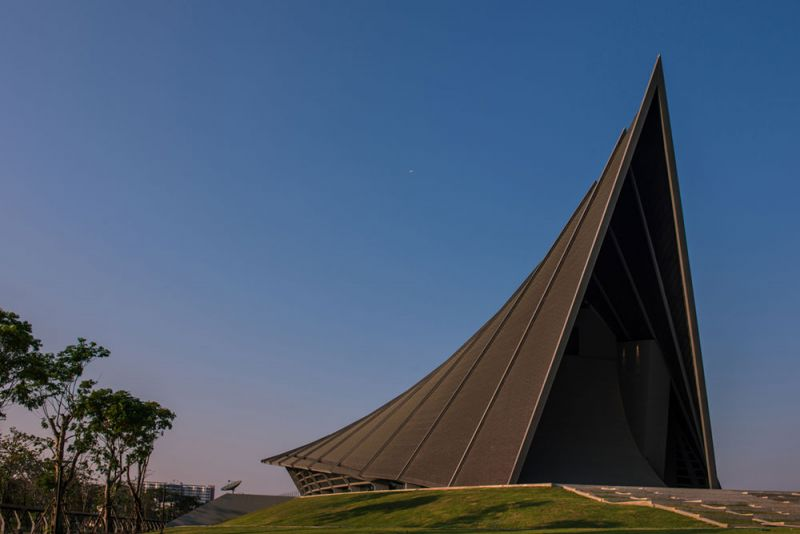 arquitectura Architects 49 Limited auditorio Prince Mahidol Hall fotografia exterior