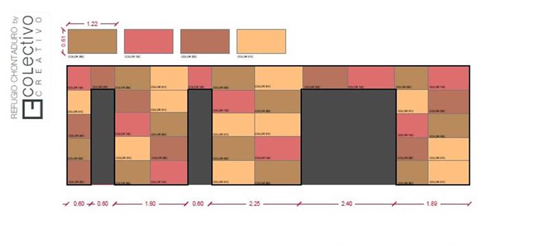Arquitectura_proyecto Vimob, colombia_ alzados laterales
