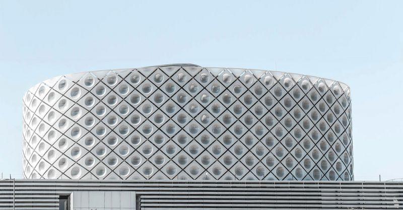 arquitectura Rafael de la Hoz Hospital Universitario Rey Juan Carlos