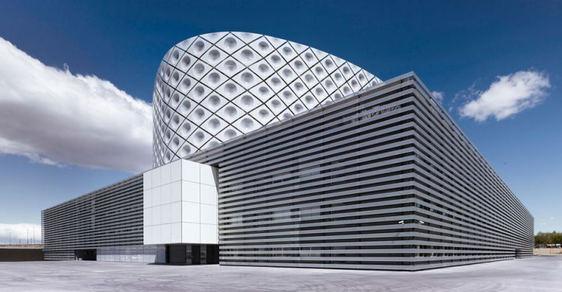 arquitectura Rafael de la Hoz Hospital Universitario Rey Juan Carlos exterior