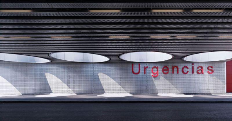 arquitectura Rafael de la Hoz Hospital Universitario Rey Juan Carlos urgencias