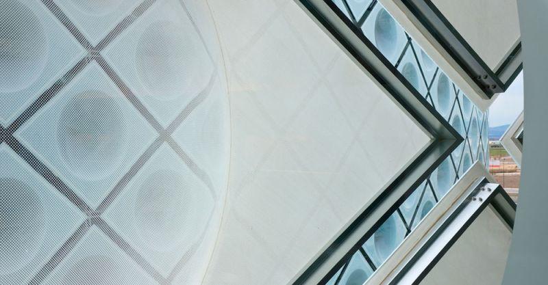 arquitectura Rafael de la Hoz Hospital Universitario Rey Juan Carlos detalle cerramiento