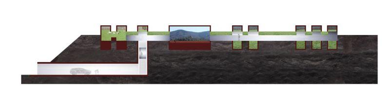 arquitectura casa horizonte rcr arquitectes netflix collage seccion