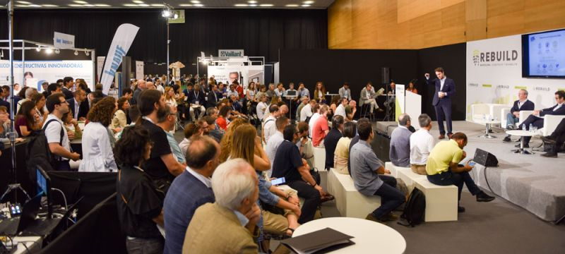 ARQUITECTURA Rebuild 2019 Arquitectura y Empresa evento feria conferencia congreso