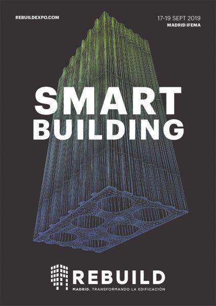 ARQUITECTURA Rebuild 2019 Arquitectura y Empresa evento feria logo cartel