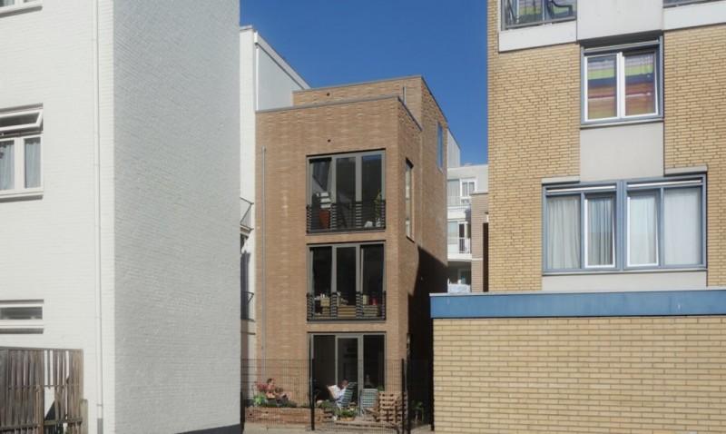 arquitectura reciclaje_Stonecycling_casa Rotterdam alzado trasero