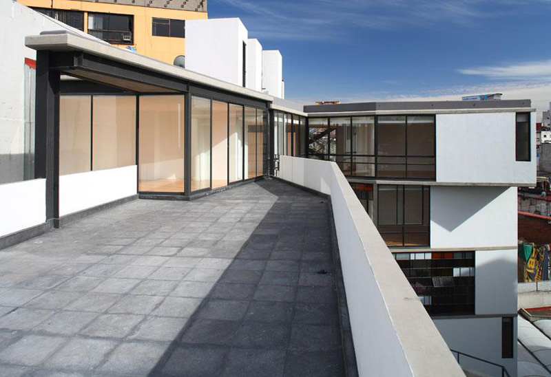 ARQUITECTURA_REHABILITACION Amsterdam vista desde las terrazas