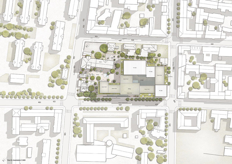Arquitectura _ rehabilitacion barrio kimmel-riga_letonia_Riga_planta