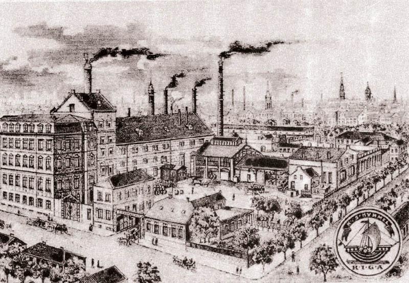 Arquitectura _ rehabilitacion barrio kimmel-riga_letonia_Riga_imagen historica