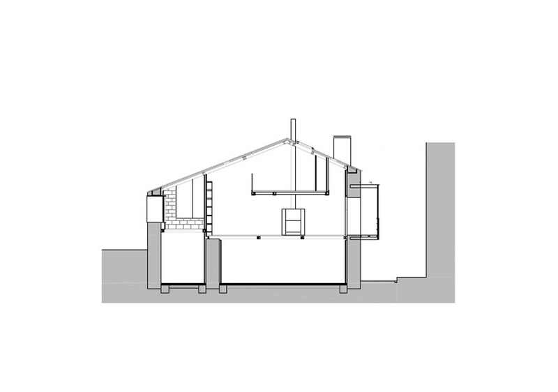 Arquitectura_ Rehabilitación Casa en Porto de Bares-seccion 2